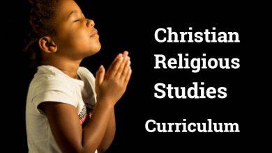 Christian Religious Studies Curriculum